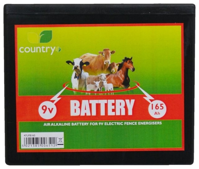 Country UF COUNTRY UF 9V 165AH BATTERY