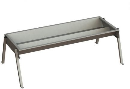 IAE IAE DOUBLE SIDED CATTLE TROUGH ON LEGS 2440MM (8FT)