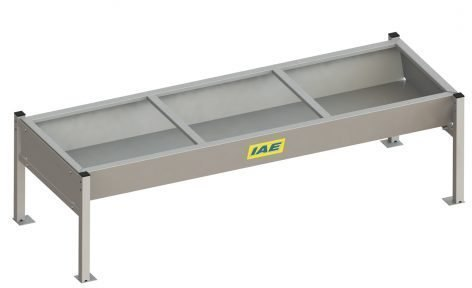 IAE IAE LOW LEVEL CATTLE TROUGH ON LEGS 2440MM (8FT)