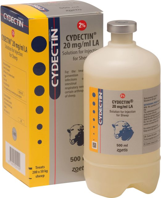 Zoetis CYDECTIN LA INJECTION SHEEP