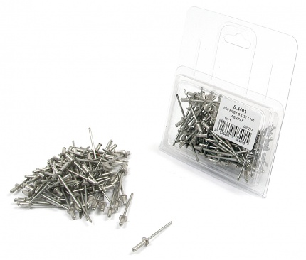 RIVET 4.0MMx15.2MM PACK 100