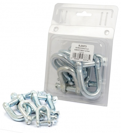 D SHACKLE ASSORTED PACK