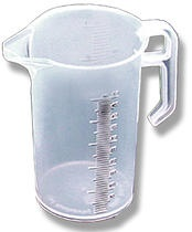 JUG MEASURE CLEAR POLY 500ML