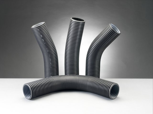 Naylor Drainage MetroDuct Twin Wall Coiled Ducting 50m Black 50/63m